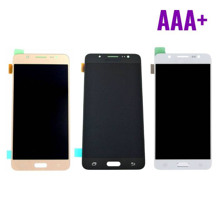 Samsung Galaxy J5 2016 Display (LCD + Touch Screen + Parts) AAA + Quality - Black / White / Gold