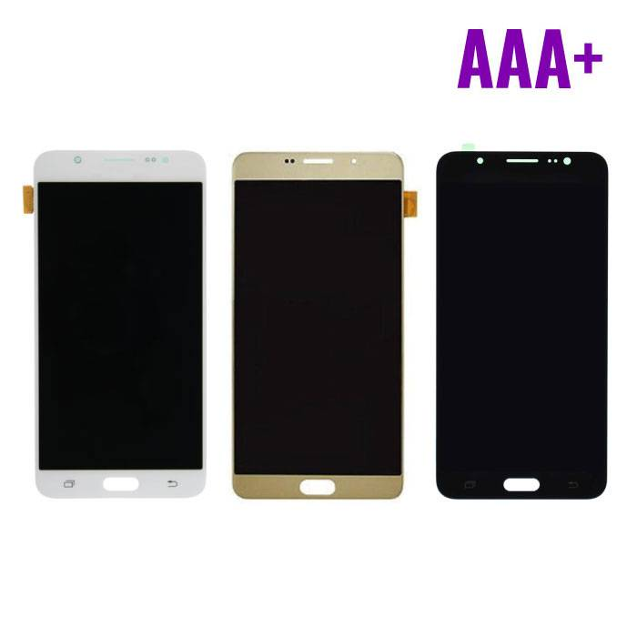 Samsung Galaxy J7 2016 Display (LCD + Touch Screen + Parts) AAA + Quality - Black / White / Gold