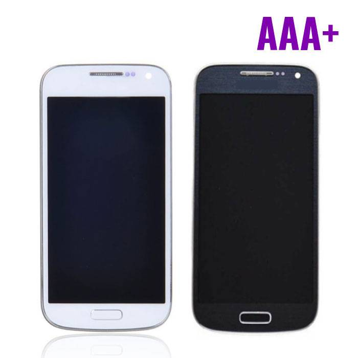 Samsung Galaxy S4 Mini Scherm (Touchscreen + LCD + Onderdelen) AAA+ Kwaliteit - Blauw/Wit