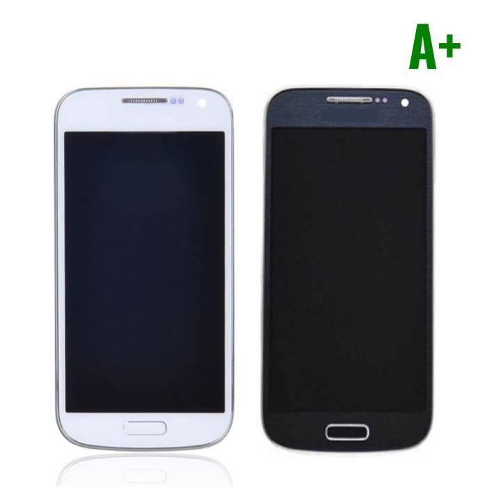 Samsung Galaxy S4 Mini Scherm (Touchscreen + LCD) A+ Kwaliteit - Blauw/Wit