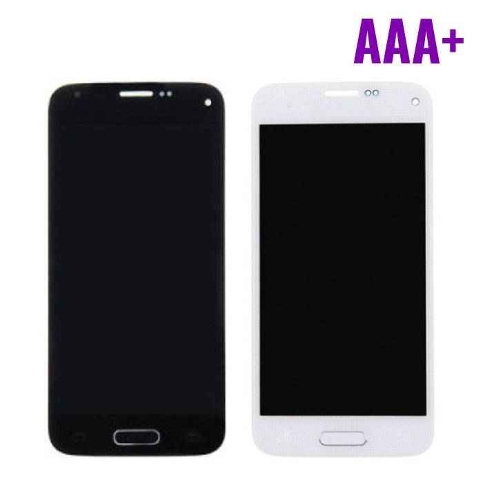 Samsung Galaxy S5 Mini Display (LCD + Touch Screen + Parts) AAA + Quality - Blue / White