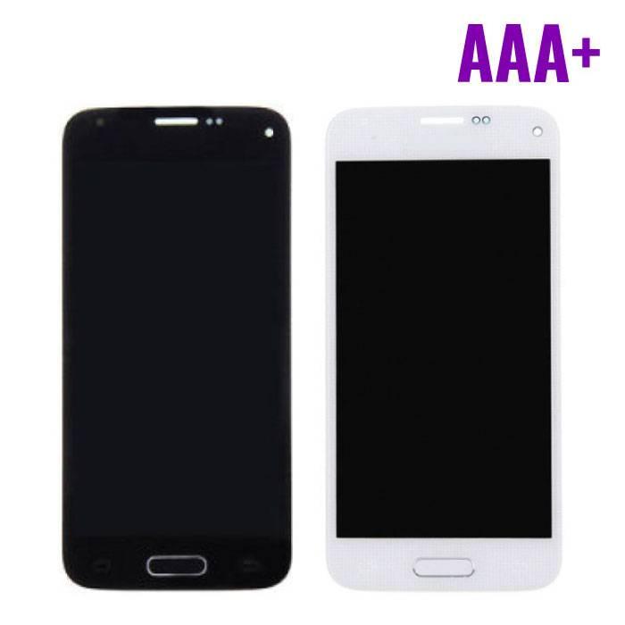 Samsung Galaxy S5 Mini Scherm (Touchscreen + LCD + Onderdelen) AAA+ Kwaliteit - Blauw/Wit