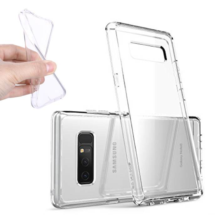 Transparent Clear Silicone Case Cover TPU Case Samsung Galaxy Note 8