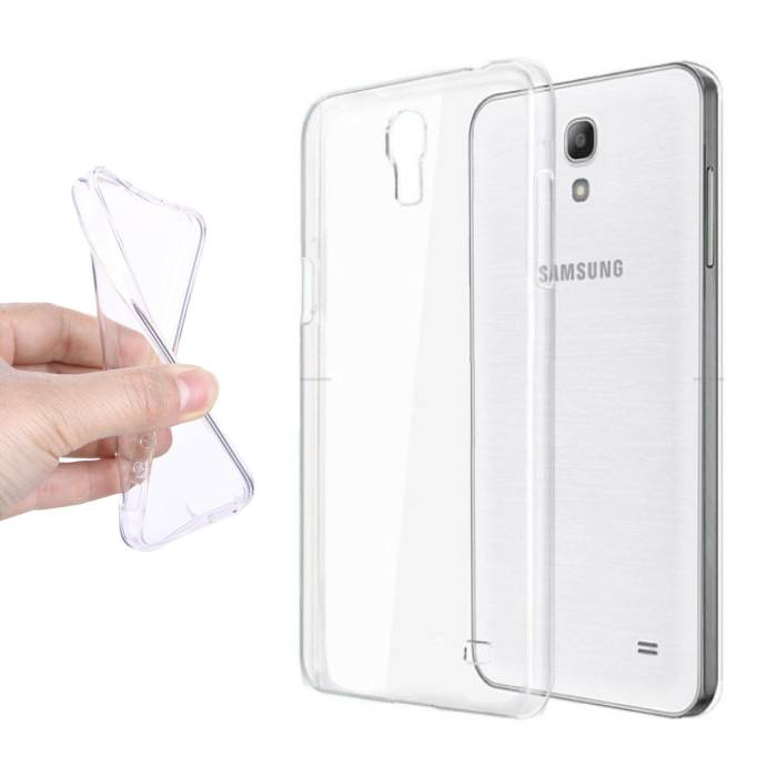 Transparant Clear Case Cover Silicone TPU Hoesje Samsung Galaxy S4