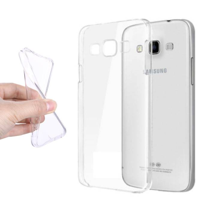 Transparant Clear Case Cover Silicone TPU Hoesje Samsung Galaxy A9 2016