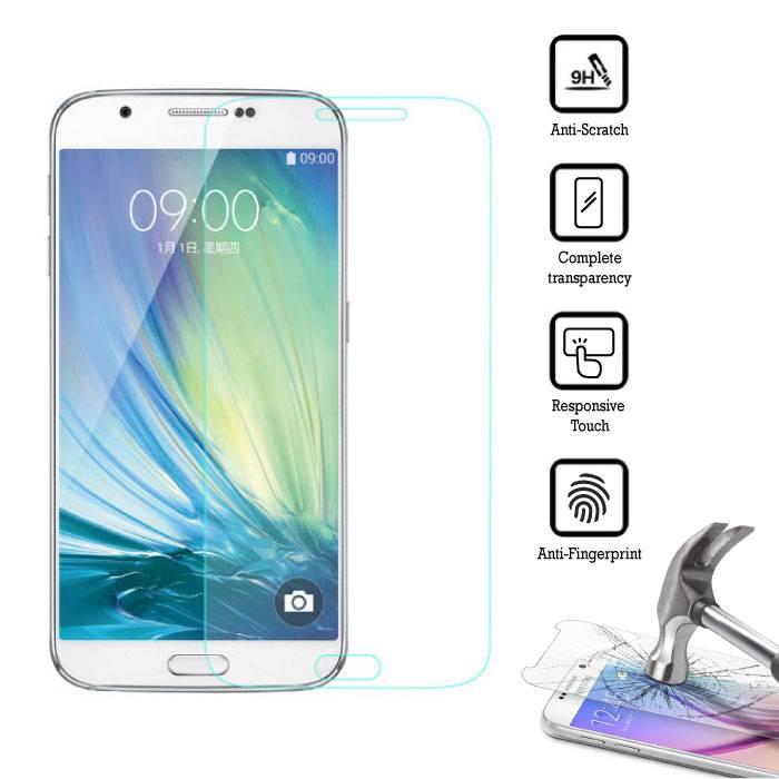 5-Pack Screen Protector Samsung Galaxy A8 2016 Tempered Glass Film