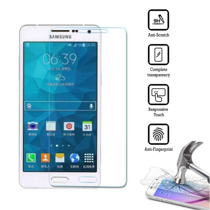 5-Pack Screen Protector Samsung Galaxy A7 2016 Tempered Glass Film