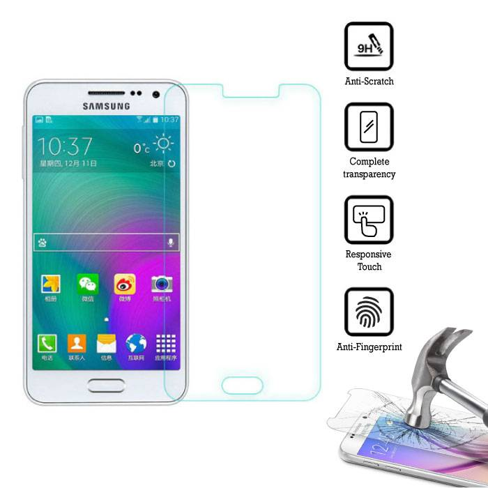 2-Pack Screen Protector Samsung Galaxy J5 Prime 2016 Tempered Glass Film