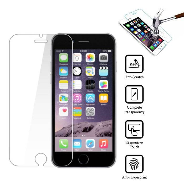 2-Pack Screen Protector iPhone 6 Tempered Glass Film