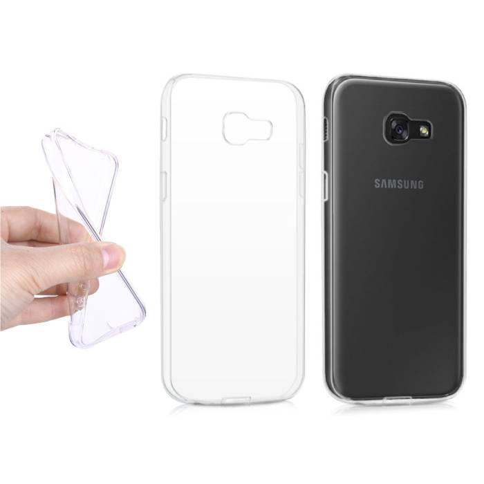 3-Pack Transparent Clear Silicone Case Cover TPU Case Samsung Galaxy A5 2016