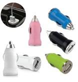 Stuff Certified ® 3-Pack iPhone/iPad/iPod AAA+ Autolader USB - Snel opladen - 5 Kleuren