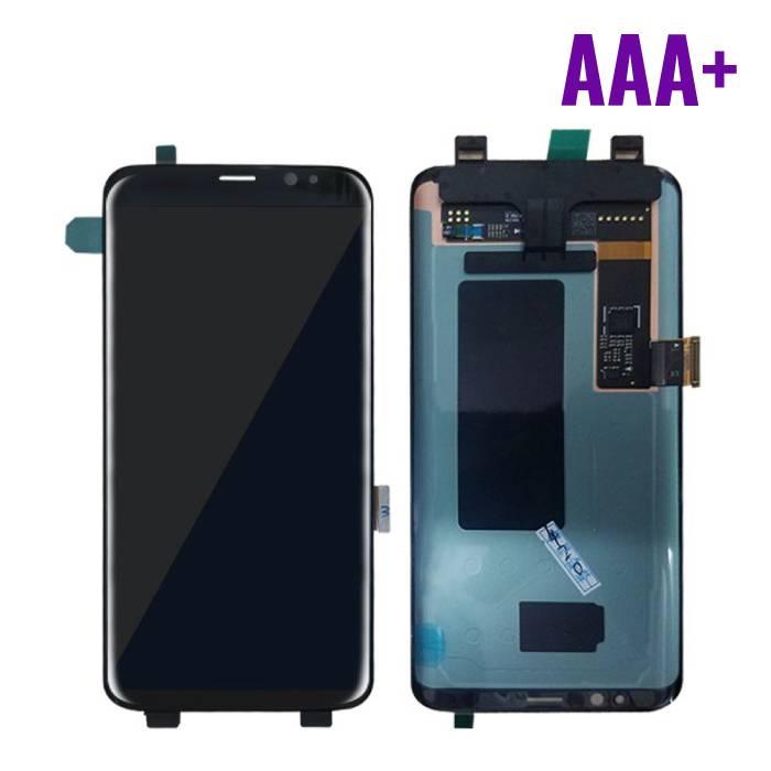 Samsung Galaxy S8 Scherm (Touchscreen + LCD) AAA+ Kwaliteit - Zwart