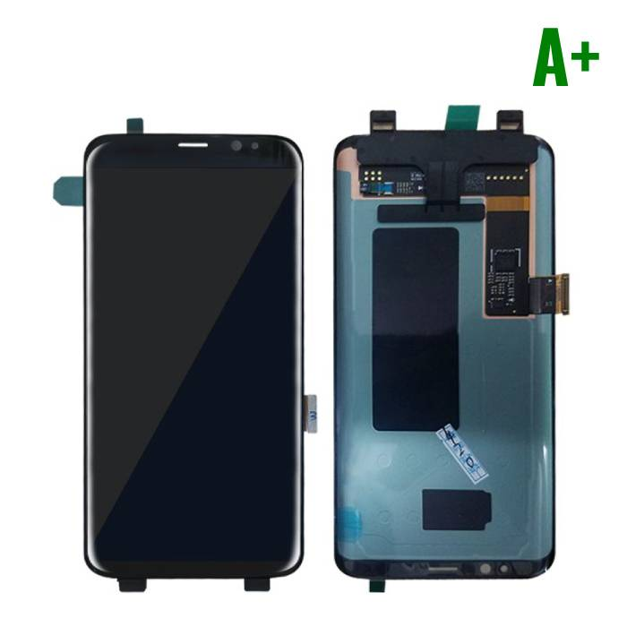 Samsung Galaxy S8 Display (LCD + Touch Screen + Parts) A + Quality - Black