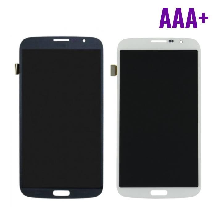 Samsung Galaxy Mega 6.3 i9200/i9205 Screen (Touchscreen + LCD + Onderdelen) AAA+ Quality - Black/White