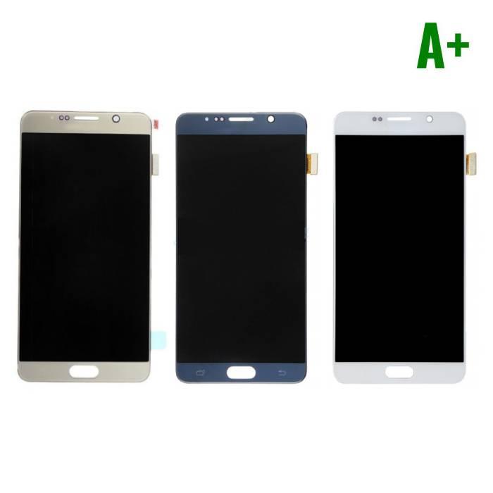 Samsung Galaxy Note 5 N9200/N920A/N920T/N920V/N920P Scherm (Touchscreen + LCD + Onderdelen) A+ Kwaliteit - Wit/Blauw/Goud