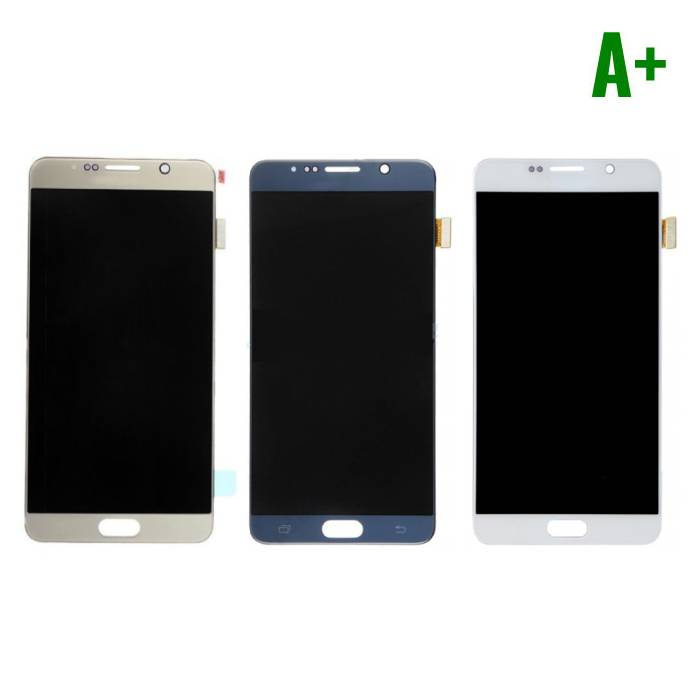 Samsung Galaxy Note N9200 5/N920A/N920T/N920V/N920P screen (Touchscreen + LCD + Onderdelen) A+ Quality - White/Blue/Gold