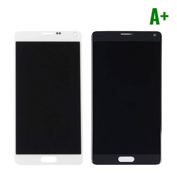 Samsung Galaxy Note 4 N910A/N910F Scherm (Touchscreen + LCD + Onderdelen) A+ Kwaliteit - Zwart/Wit