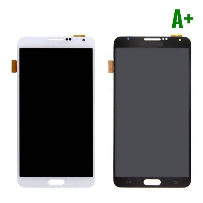 Samsung Galaxy Note 3 N9005 (4G) Scherm (Touchscreen + LCD + Onderdelen) A+ Kwaliteit - Zwart/Wit