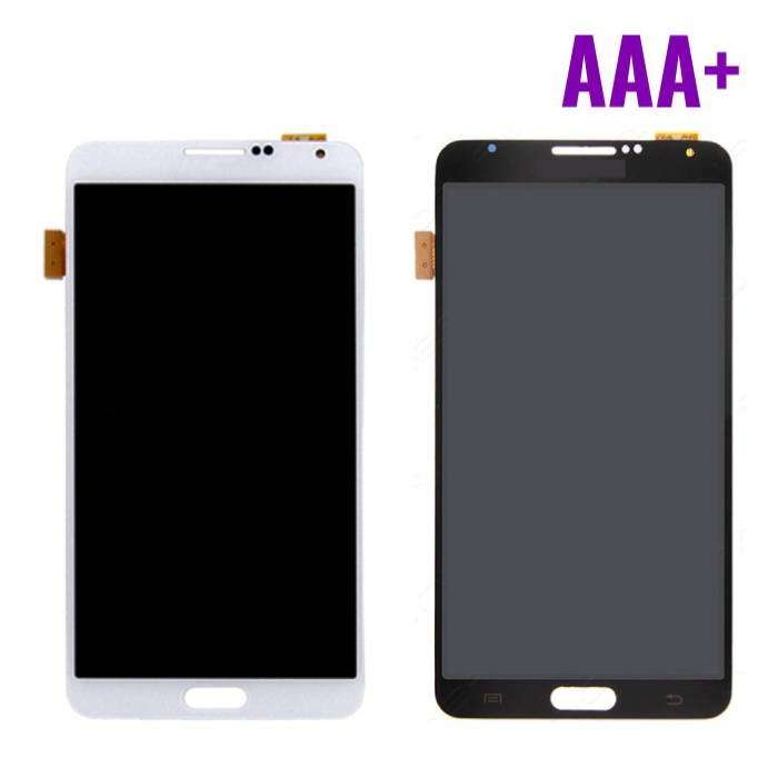 Samsung Galaxy Note 3 N9000 (3G) Scherm (Touchscreen + LCD + Onderdelen) AAA+ Kwaliteit - Zwart/Wit