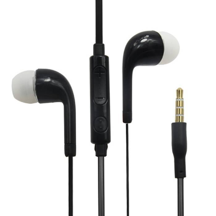 Android Earphones Oortjes Ecouteur Zwart - Helder Geluid