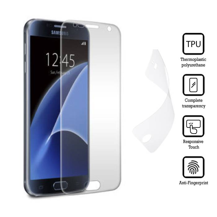 Screen Protector Samsung Galaxy S7 Soft TPU Foil Film PET Film