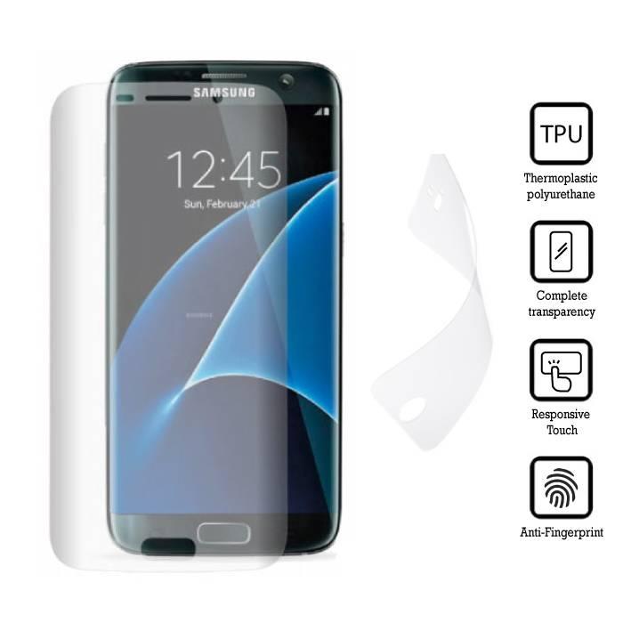 Screen Protector Samsung Galaxy S7 Edge Soft TPU Foil Folie PET Film