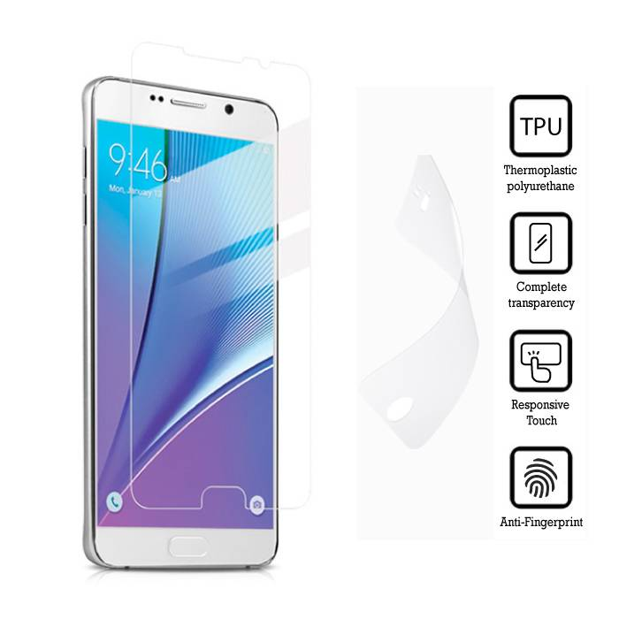 Screen Protector Samsung Galaxy Note 5 Soft TPU Foil Foil Film