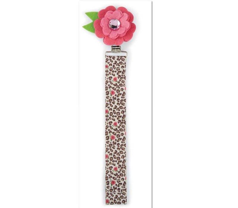 Leopard flower pacy clip