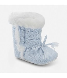 Mayoral Baby boy knit booties