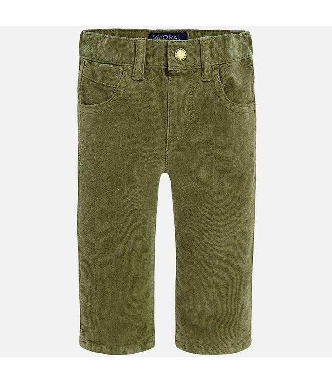 "Mayoral Corduroy trousers ""slim fit"""