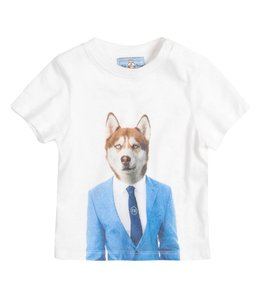 "River Woods Tshirt ""Wolf in suit"" River Woods"