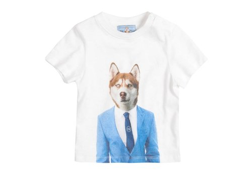 """River Woods Tshirt """"Wolf in suit"""" River Woods"""