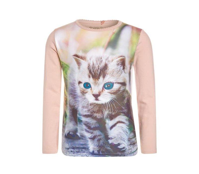 """Tshirt """"Cat"""" Lemon Beret"""