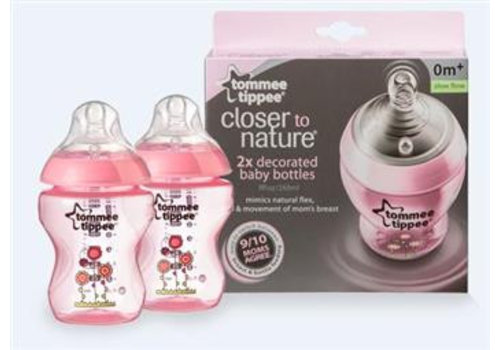 Tommee Tippee Feeding bottle  2 x 260ml