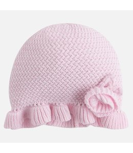 Mayoral Baby girl 100% cotton beanie Mayoral
