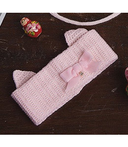 Il Trenino Haarband met kat-oortjes roze Il Trenino