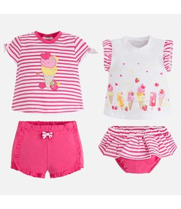 Mayoral 4 stuks set baby girl