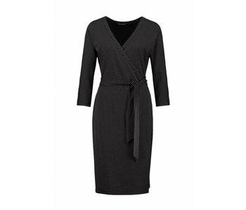 Expresso Dress straight zwart Jamila