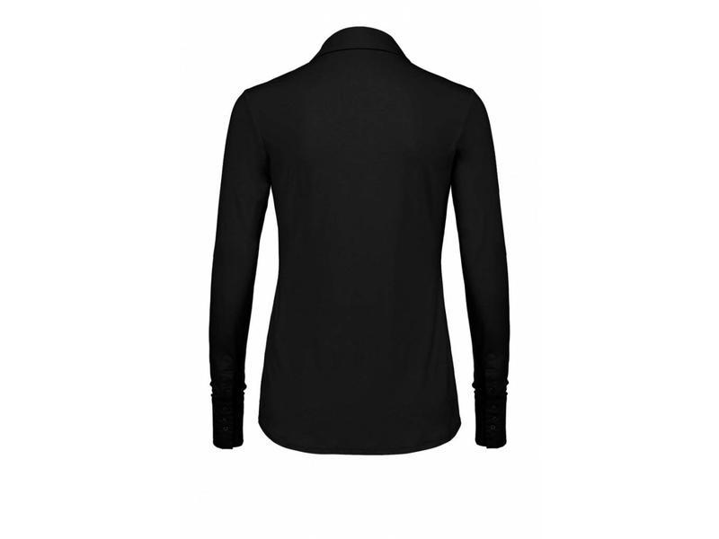 Expresso blouse ls combi zwart Xani