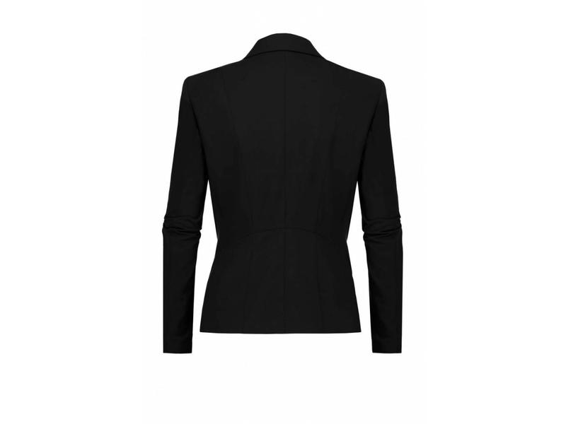 Expresso blazer basic zwart Xolia