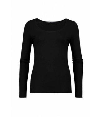 Expresso T-shirt basic ls zwart Xada