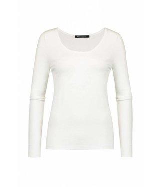 Expresso T-shirt basic ls off white Xada