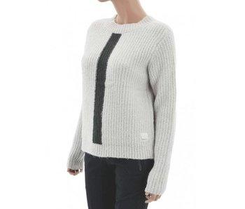 Penn & Ink Knitted vest grijs w17c007