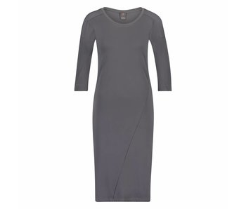Penn & Ink Dress antraciet w17n130