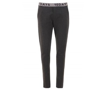10Days Basic pants antraciet 20-010-7103