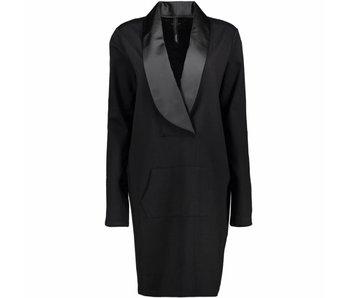10Days Blazer dress zwart 20-340-7103