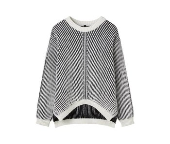 10Days Sweater off white 20-602-7103
