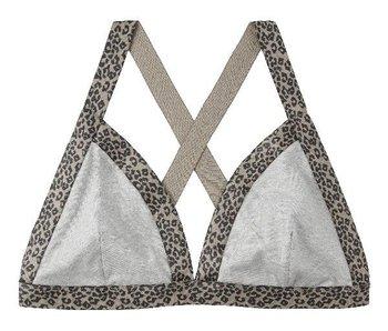 10Days Triangle bra leopard grijs 21-993-9900