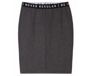 10Days Basic skirt antraciet 20-100-7103