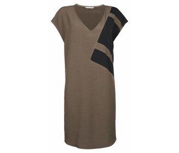 Yaya Dress groen 081611-721